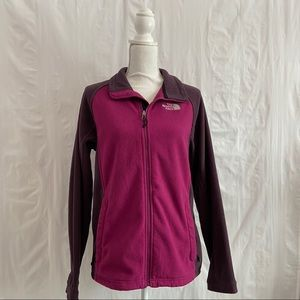 The North Face Pink & Purple Fleece Jacket